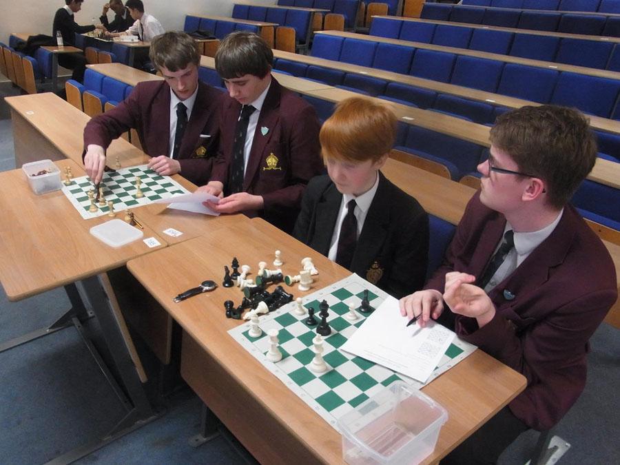 Chess problem solving