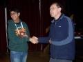 Aditya Munshi 3rd Individual Blitz with Neill Cooper